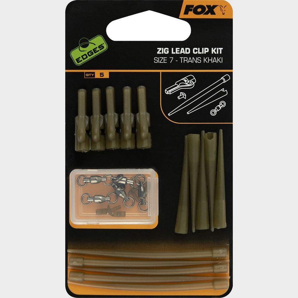Khaki Fox Zig Lead Clip Kit image 1