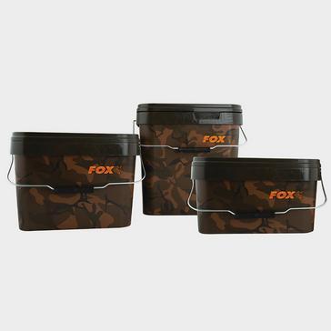 Fox Fox Camo Square Bucket 5 Litre