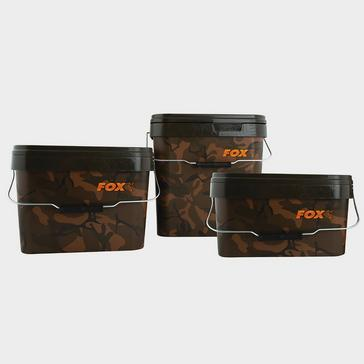 Fox Fox Camo Square Bucket 10 Litre