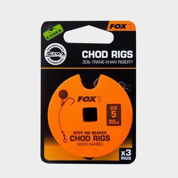 Fox Stiff Chod Rig 30lb Sz 5 Strd