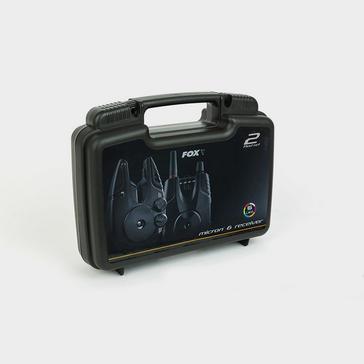 Black FOX INTERNATIONAL Micron MX 3 Rod Alarm Set