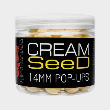 Munch Baits Cream Seed Pop Ups 18mm