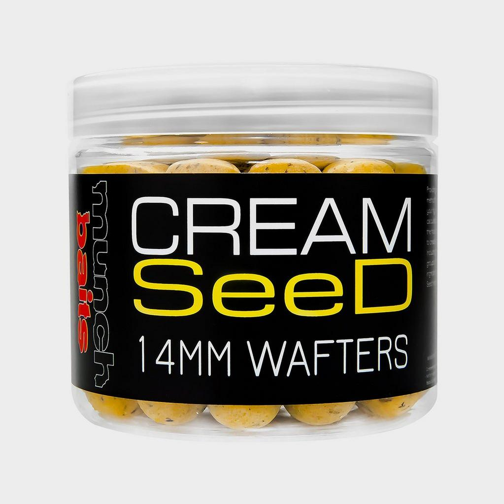 Munch Baits Cream Seed Wafters 14mm image 1