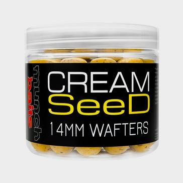 Munch Baits Cream Seed Wafters 14mm