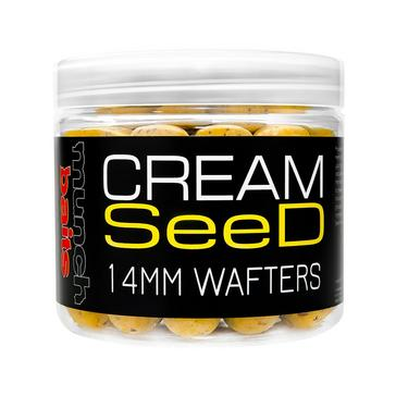 Munch Baits Cream Seed Wafters 18mm