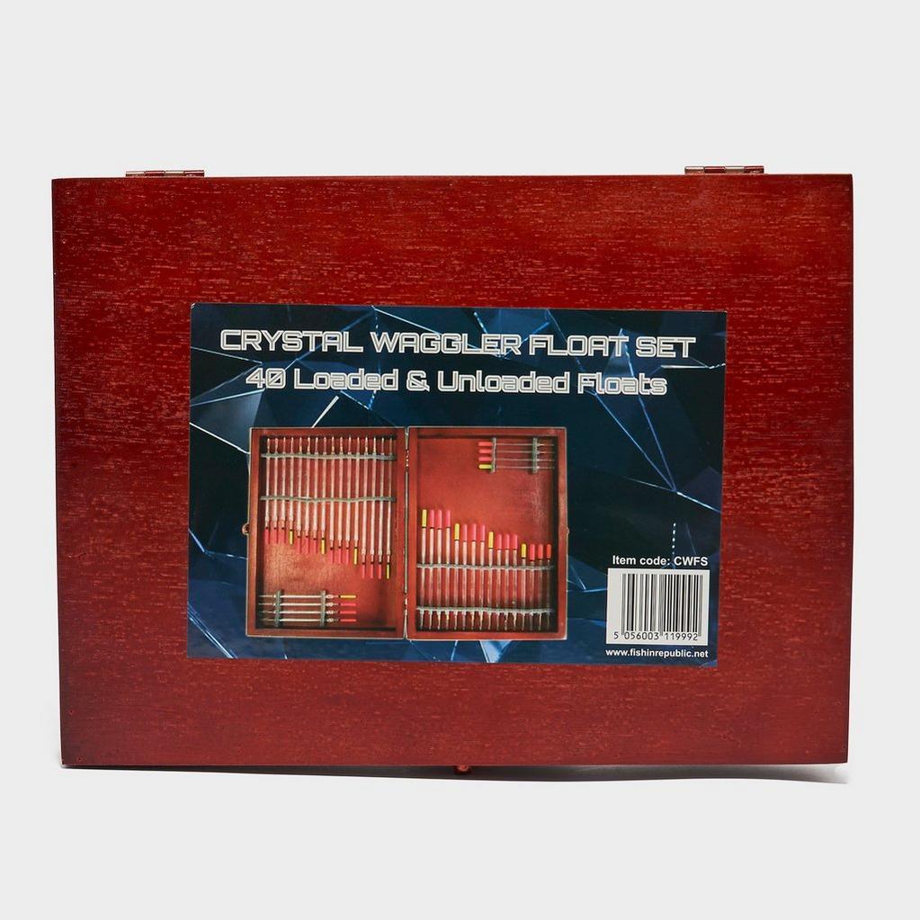 LUREFLASH Crystal Waggler Float Set 40 Pieces image 1