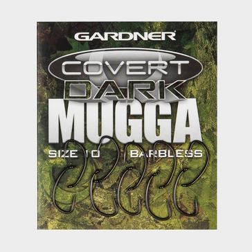 Grey Enterprise Tack Gardner Tackle Dark Mugga Hook Size 10