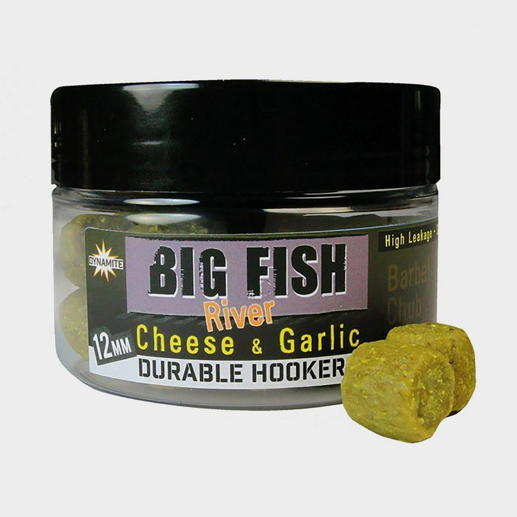 GREEN Dynamite 12mm Cheese & Garlic Big Fish River Durable Hkers image 1
