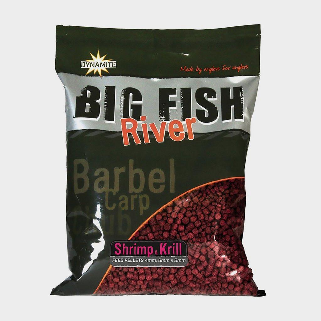 Dynamite Big Fish River Pellets 4 6 8mm Shrimp & Krill image 1