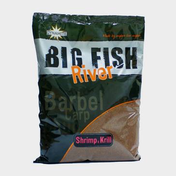 Brown Dynamite Shrimp and Krill Big Fish River Groundbait 1.8kg