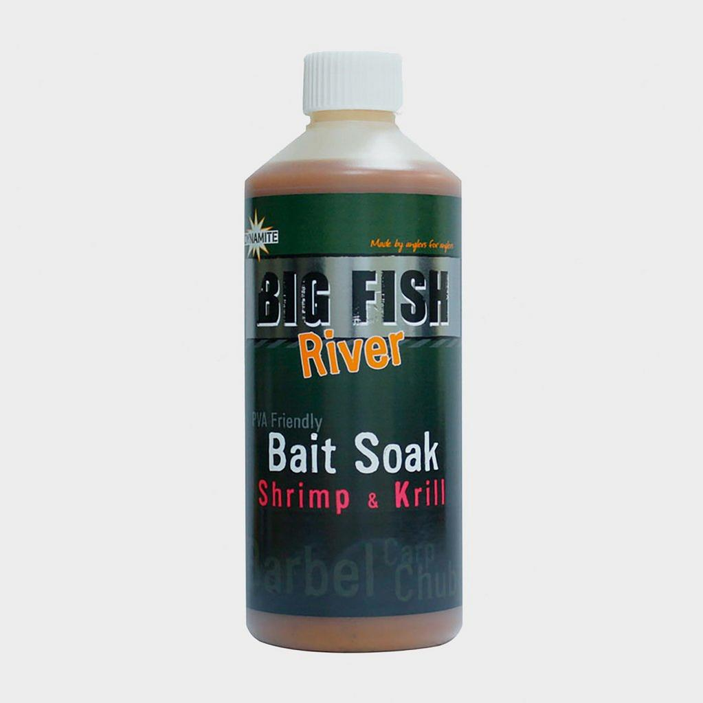 Dynamite 500ml Shrimp & Krill Big Fish River Bait Soak image 1