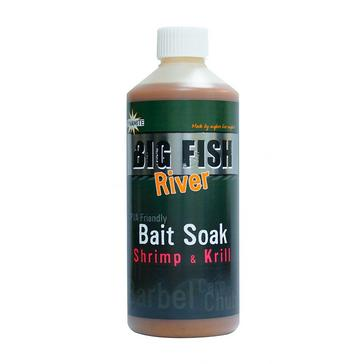 GREEN Dynamite 500ml Shrimp & Krill Big Fish River Bait Soak