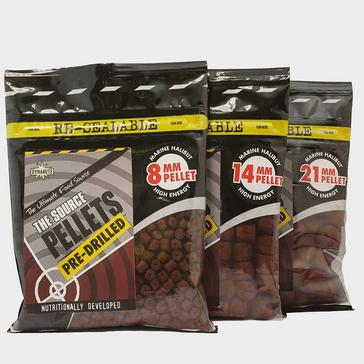 Brown Dynamite The Source Pre Drilled Pellets (8mm)