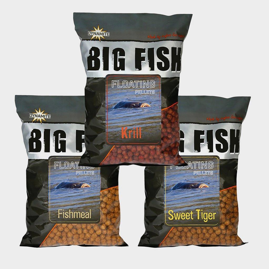GREY Dynamite Big Fish Fltng Pellets 11mm Krill image 1