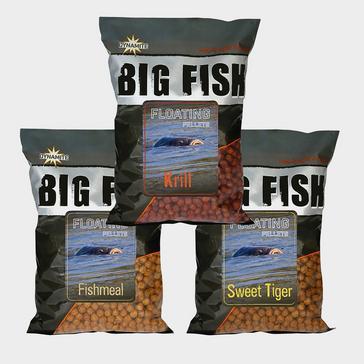 GREY Dynamite Big Fish Fltng Pellets 11mm Krill