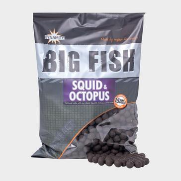 Brown Dynamite Octopus & Squid Boilies 15mm 1.8kg