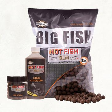 Brown Dynamite Hot Fish & GLM Boilies 15mm 1.8kg