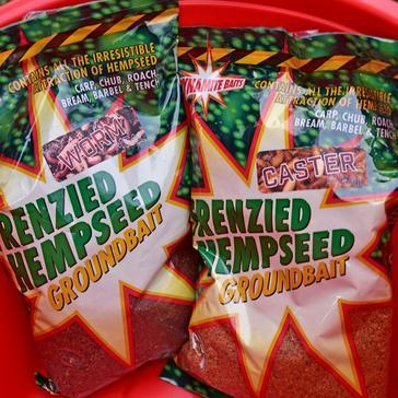 GREEN Dynamite Frenzied Hemp Dark Worm GRndbait 900g