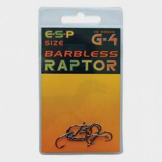 Barbless Raptor G4 Size 6