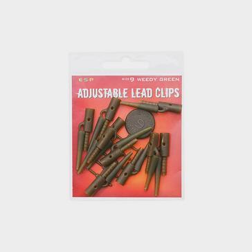 ESP Adj Leadclip Weedygreen