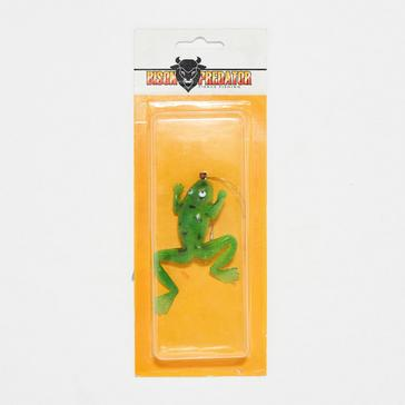 LUREFLASH Frog Lure Grn with Spots 7cm - F04