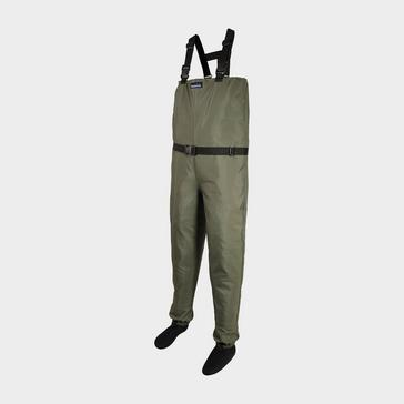 Green TFGEAR Hardwear Pro Breathable Chest Waders