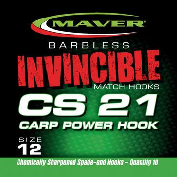 Silver Maver Invincible Cs21 Hk Size 16