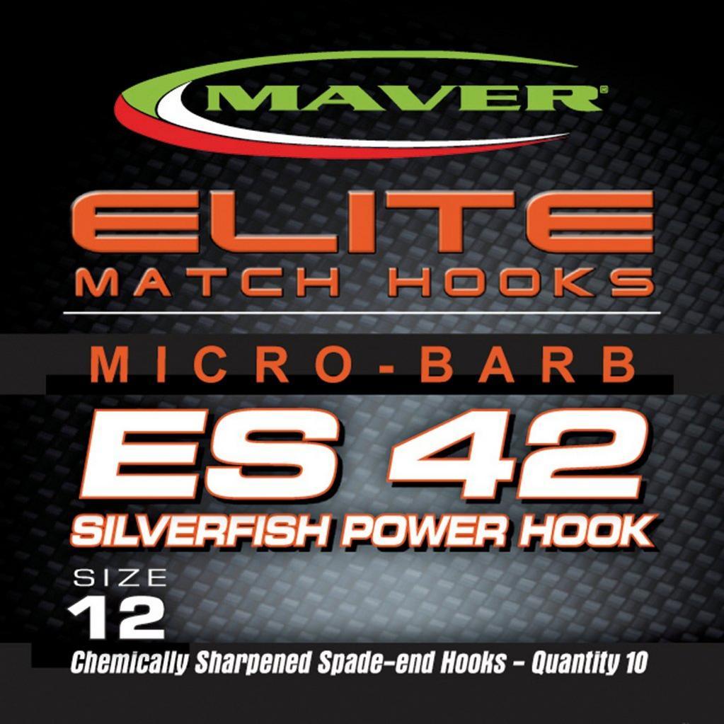 Silver Maver Elite Es42 Match Hk Sz 18 image 1