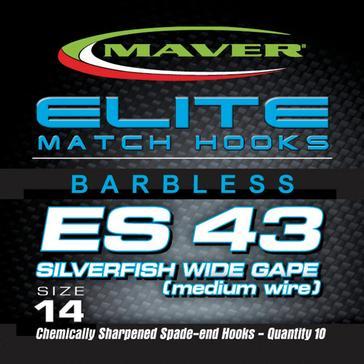 Silver Maver Elite Es43 Match Hk Sz 22