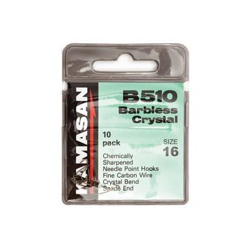 Black Kamasan B510 Barbless Crystal Sz20