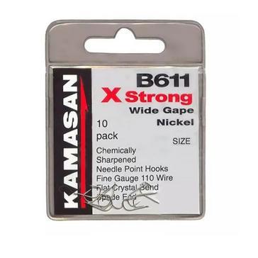 Silver Kamasan B611 Xs Barbed Sz26