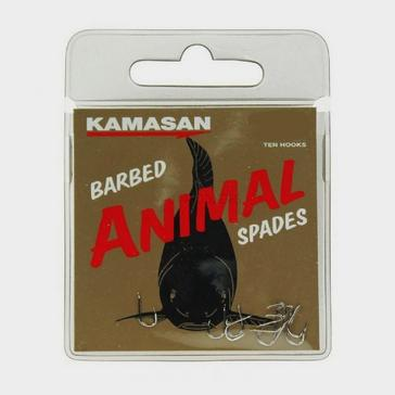 Silver Kamasan Sz12 Animal Spade Barbed
