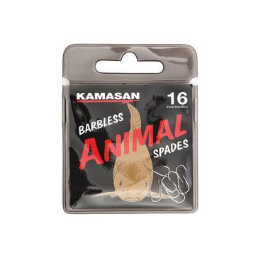 Multi Kamasan Sz20 Animal Spade Barbless