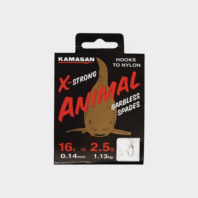 Multi Kamasan Animal Barbless Spades - Heavy (14 / 4lb) image 1