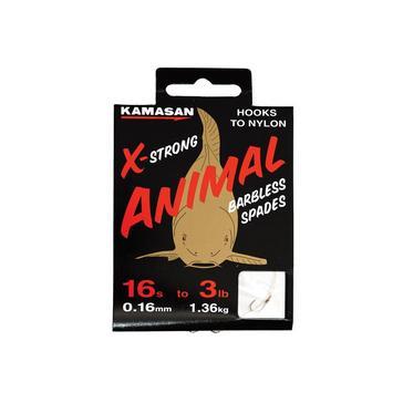 NO COLOUR Kamasan Animal Barbless Spades - Heavy (16 / 3lb)