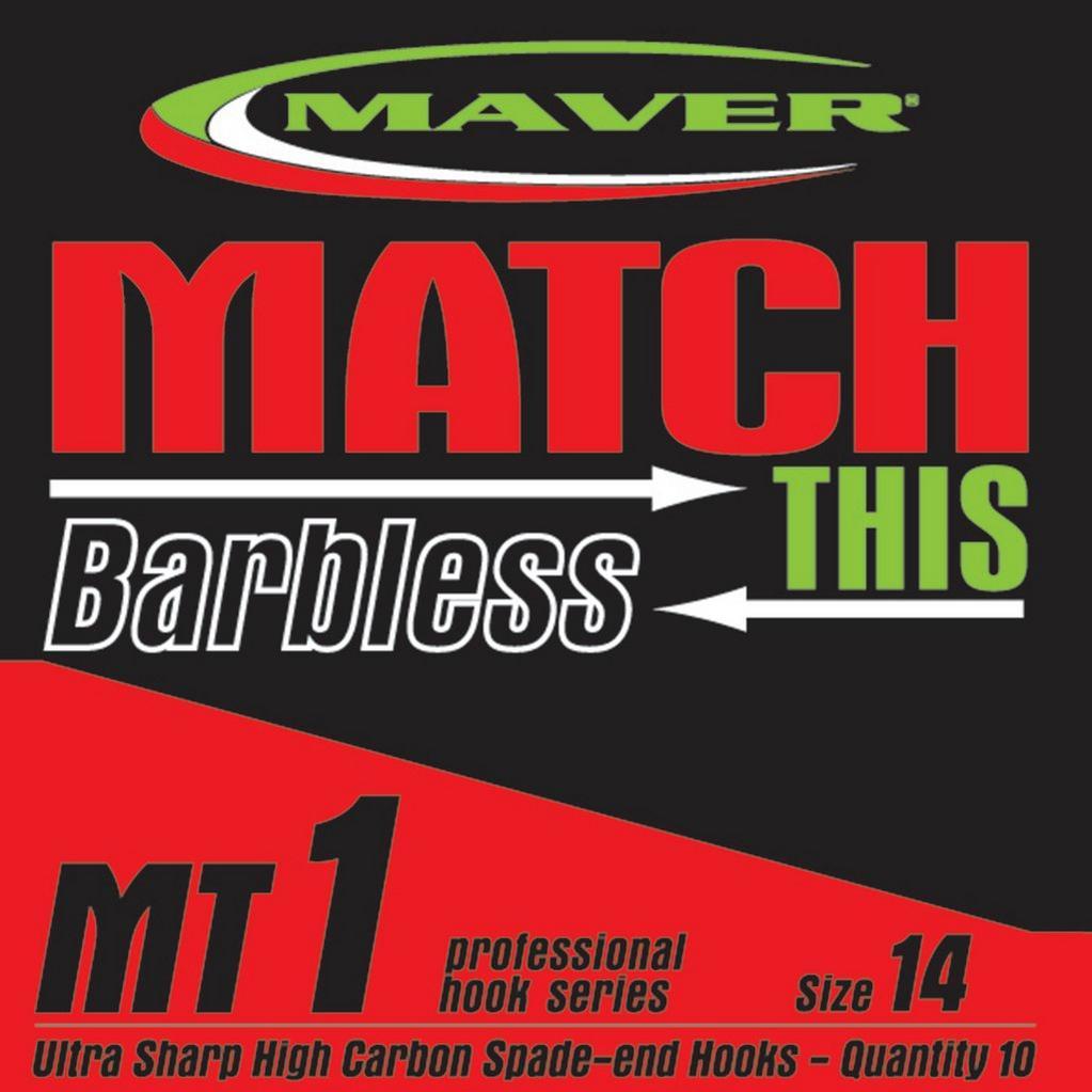 Multi Maver Mt1 Spade End Hook Size 20 image 1