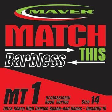 Multi Maver Mt1 Spade End Hook Size 20