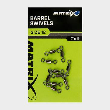 Silver MATRIX Size 18 Barrel Swivels