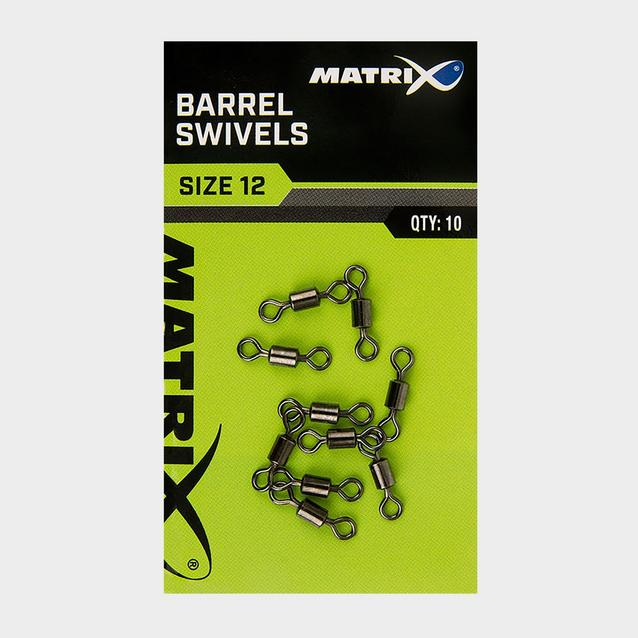 Silver MATRIX Size 12 Barrel Swivels image 2