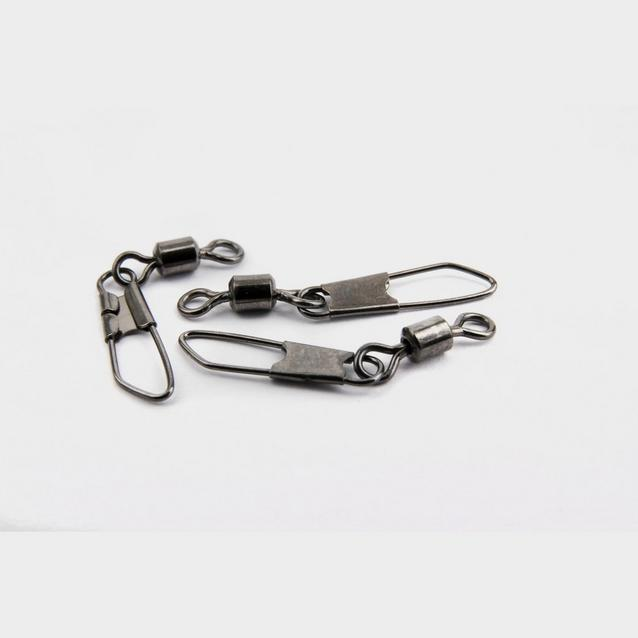Silver MATRIX Size 10 Snap Link Swivels image 1