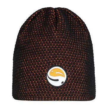 Black/Orange GURU Skull Cap