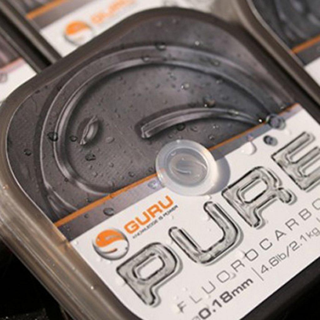 Silver GURU Pure Fluorocarbon 0.18Mm image 1