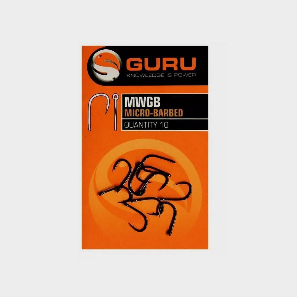 Black GURU Match Wide Gape Hook (Size 18) image 1