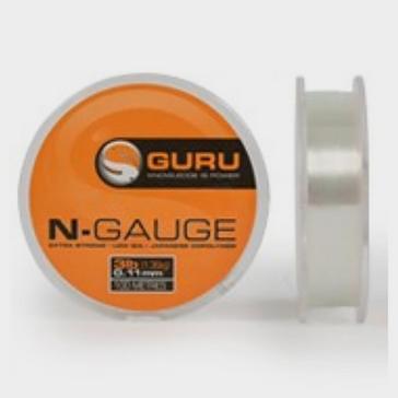 Clear GURU N Gauge Mono 4lb 0.13mm