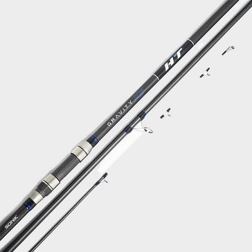 Black Sonik 3-Piece Gravity X5 HT 15ft4 Shore Rod - 4-8oz