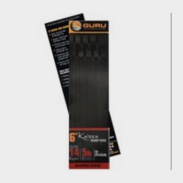 Black GURU Kaizen Pole Rigs 6 Inch Size 16