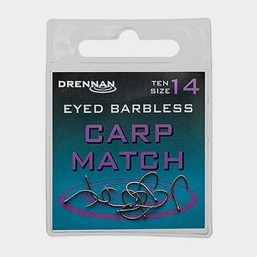 Silver DRENNAN Eyed Bless Carp Match Sz 18