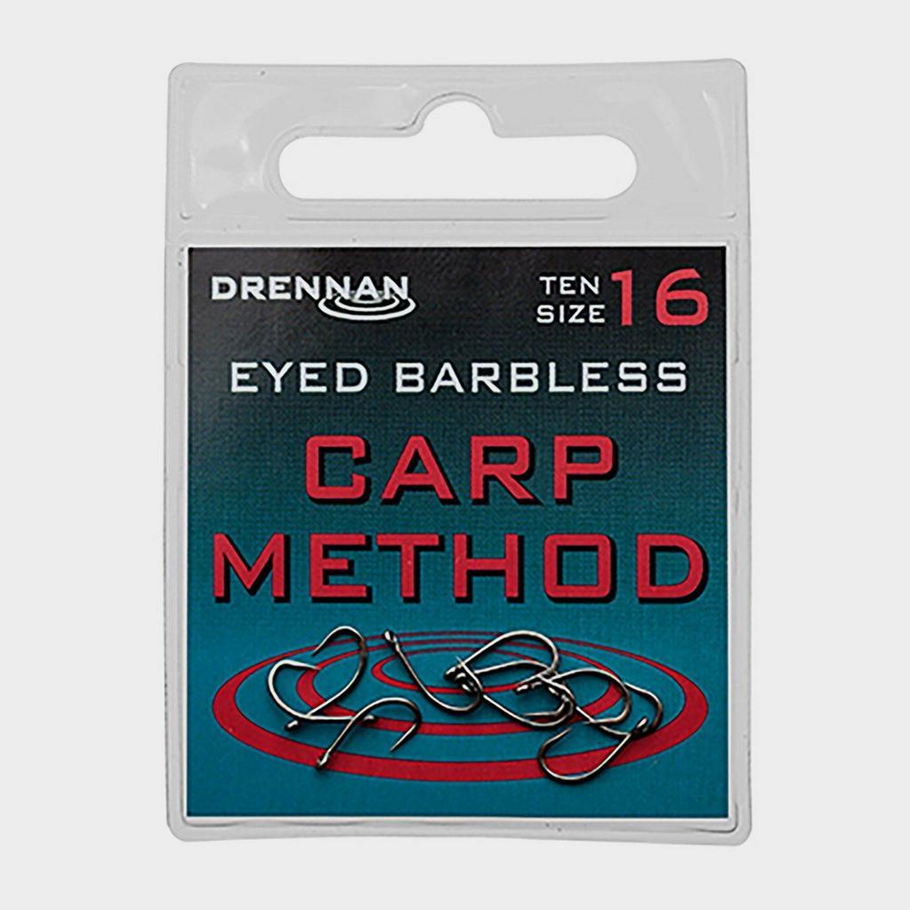 Multi DRENNAN Eyed Barbless Carp Method Size 10 image 1