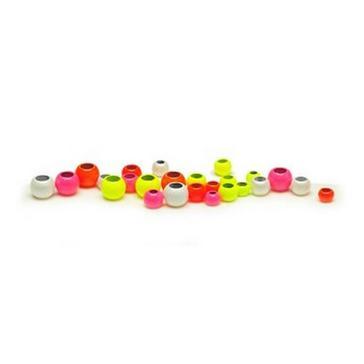 Assorted VENIARD Hot Colour Brass Beads 4mm wht