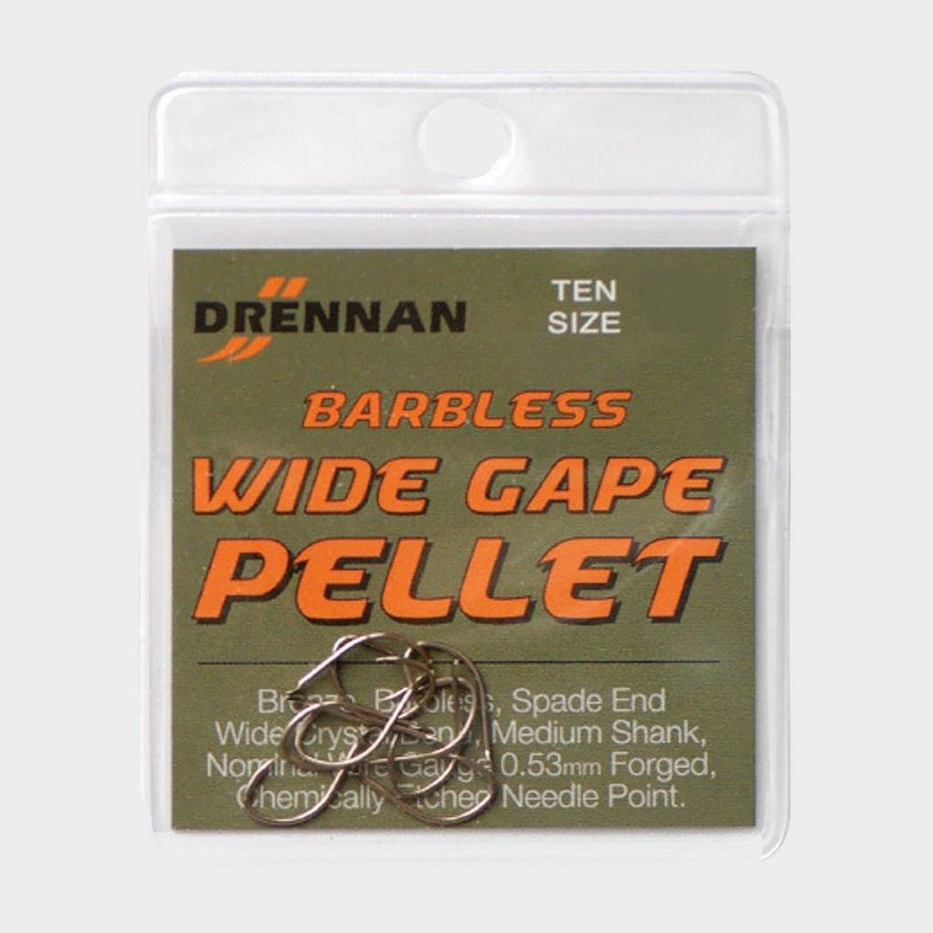 Multi DRENNAN Barbless Wide Gape Pellet Size 14 image 1